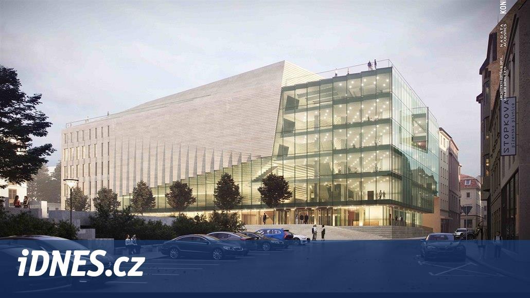 Na střeše nového koncertního sálu v Brně budou dvě terasy