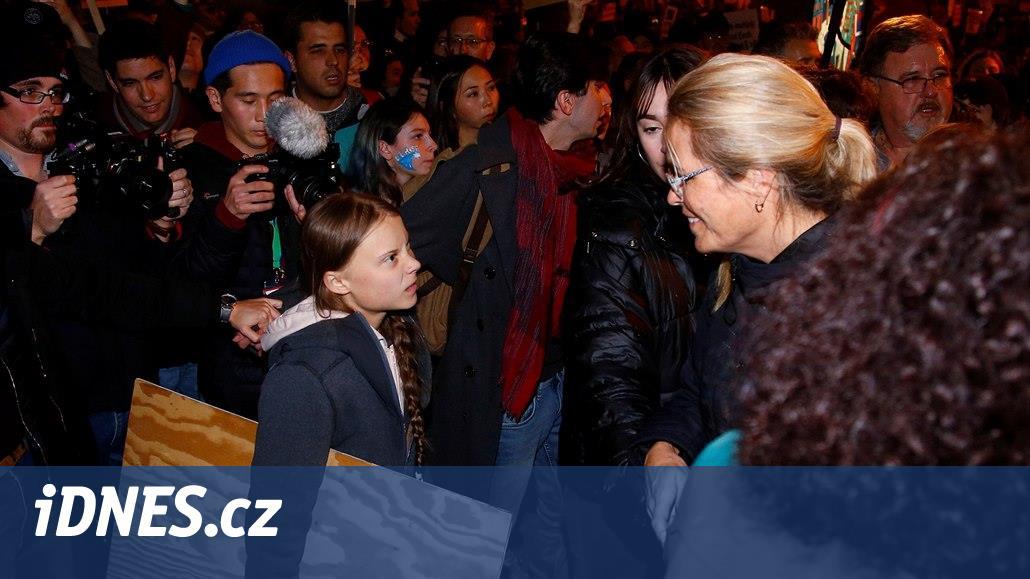 Greta přicestovala do Madridu. V metropoli se účastnila Pochodu za klima