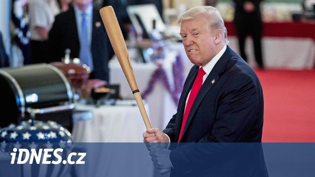 Trump chce proti tradici předvolební projev vBílém domě. Naštval istraníky