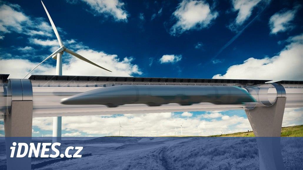 Na chudém čínském venkově vyroste futuristický systém Hyperloop
