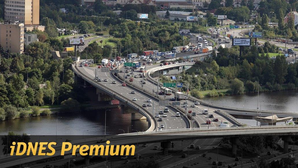Blíží se oprava Barrandovského mostu. Čekají se mnohakilometrové kolony