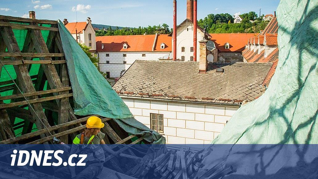 Bývalý krumlovský pivovar Eggenberg se promění na hotel i dvě muzea