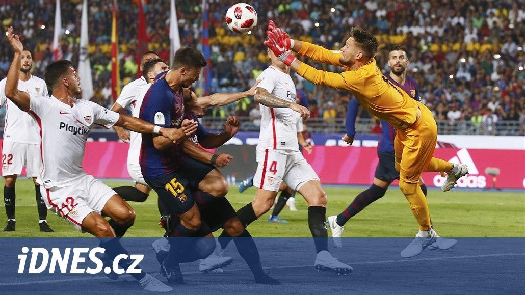 Vaclík zvládl ligovou premiéru za Sevillu, Real hraje s Getafe