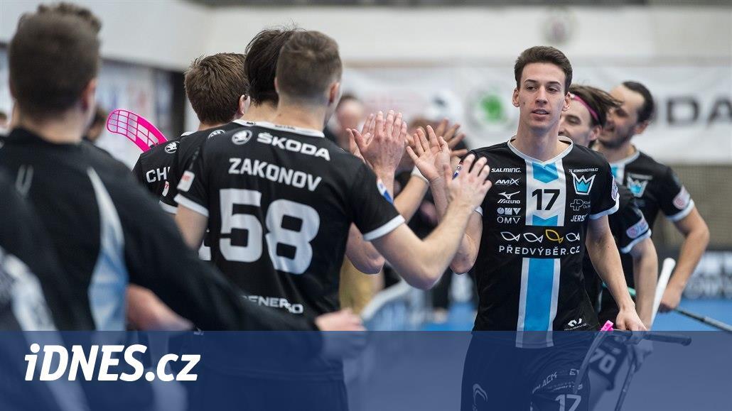 Florbalisté Mladé Boleslavi a Vítkovic prošli do superfinále bez zaváhání