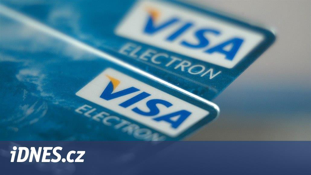 Masivní výpadek systému karet Visa postihl pět milionů transakcí
