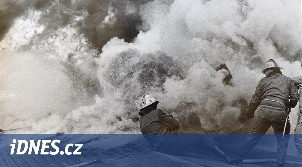 Seriál Praha v plamenech ukazuje unikátní záběry i příběhy hasičů