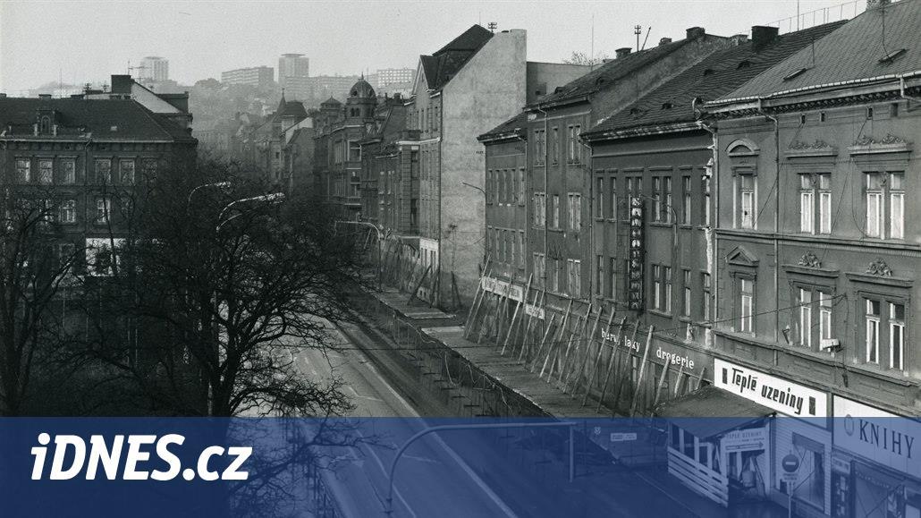 Odstřel dvanácti historických domů před 40 lety změnil centrum Ústí