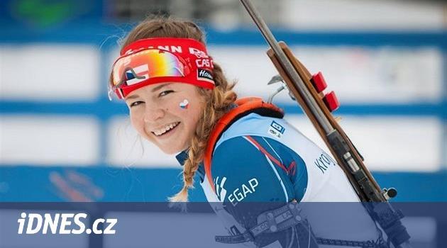 Neklepej se! Vzorem mladé biatlonistky Vinklárkové je slavná Němka