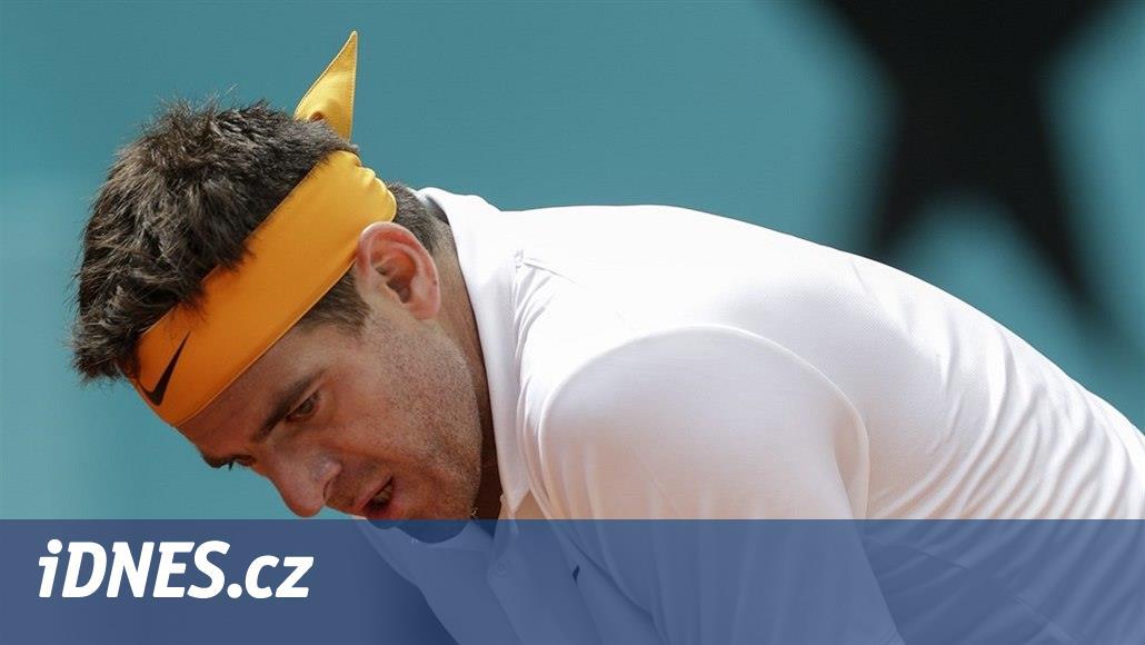 Tenista Del Potro se pokusí zachránit kariéru, půjde na další operaci