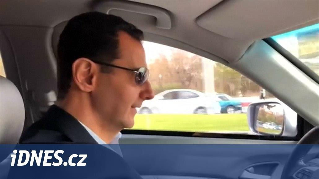 VIDEO: Asad si zajel zkontrolovat Ghútu. Lidé se vrací k vládě, prohlásil