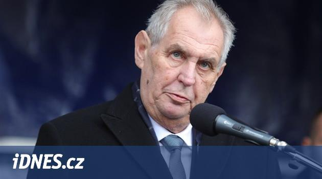 Zeman: Pokud Guaidó požádá o pomoc v cizině, může skončit jako Husák