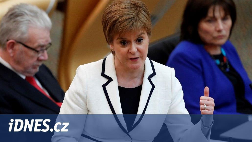 Chceme do dvou let nové referendum onezávislosti, řekla skotská premiérka