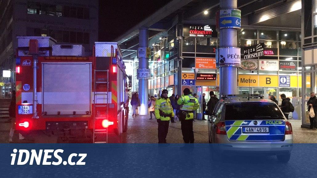 Policie hledá svědky pádu muže pod vlak metra ve stanici Anděl
