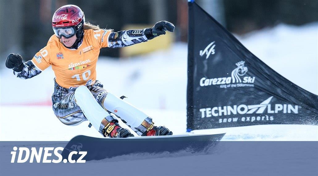 Ledecká vyhrála na snowboardu i čtvrtý obří slalom, tentokrát v Rogle