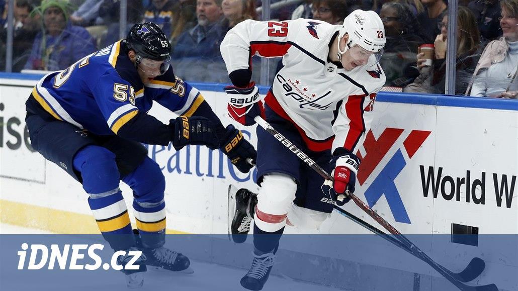 NHL zahájí St. Louis s Washingtonem, venku se bude hrát třikrát