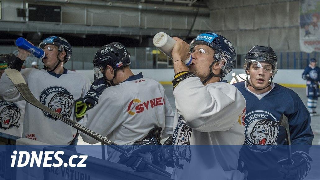 Přípravu libereckých hokejistů zpestřuje týden na ledě