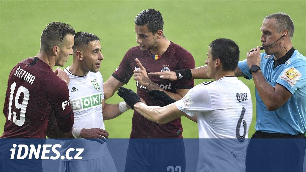 Jarábek: Prvním dvěma gólům Sparty předcházely naše dvě lehké ztráty