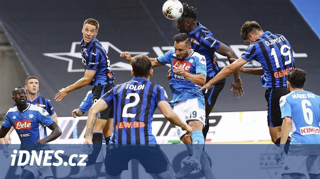 Bergamo vyhrálo v italské lize i čtvrtý zápas po restartu sezony