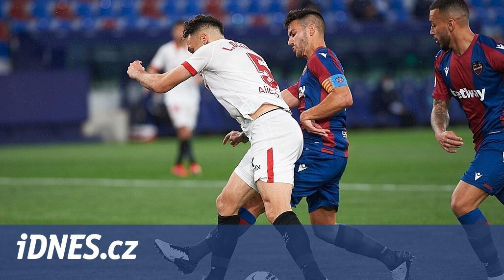 Sevilla vyhrála na hřišti Levante, Vaclík se do branky nedostal