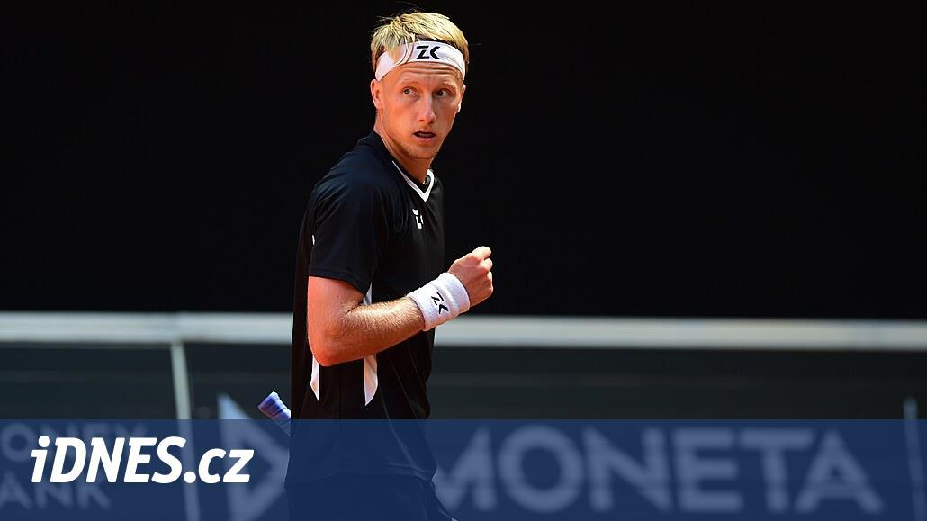 Tenista Kolář na challengeru v Prostějově na finále nedosáhl