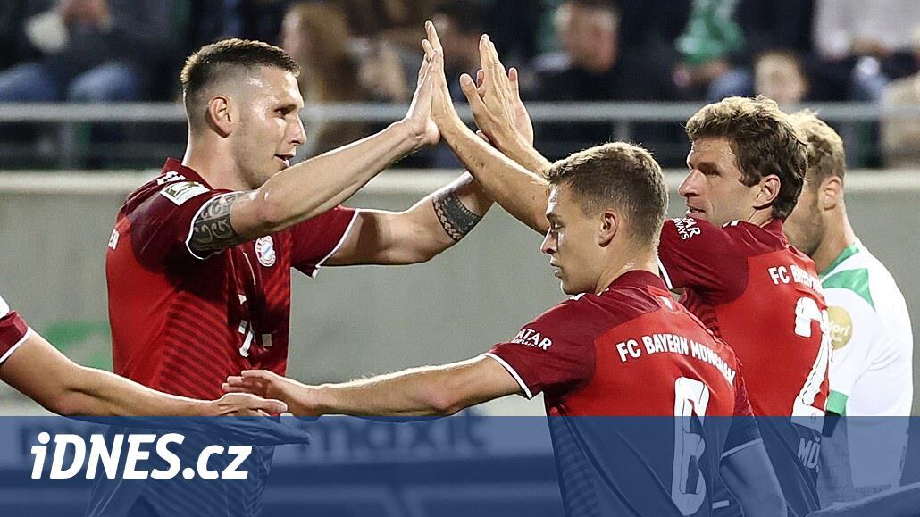 Bayern vyhrál i v oslabení ve Fürthu. Uspěl v pátém duelu v řadě
