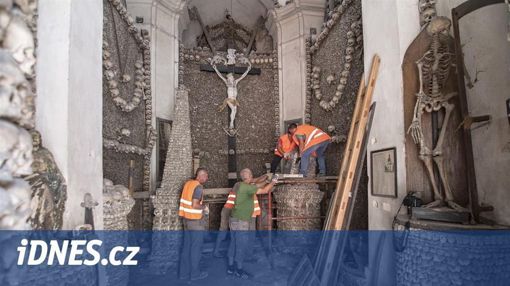 I Kolín má svou kostnici, po opravách se poprvé otevře turistům
