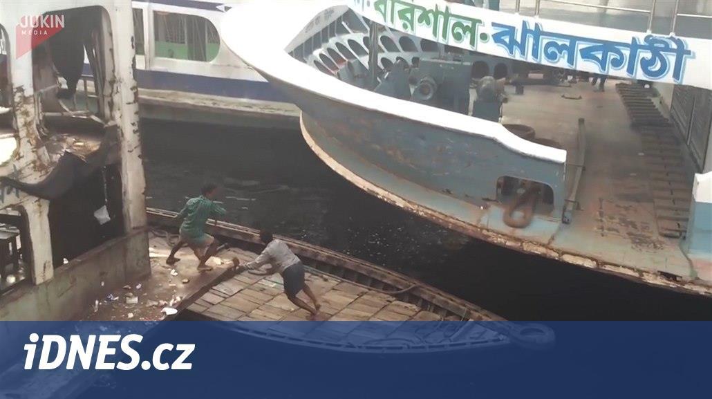 VIDEO: Nás nedostanou. Kurz přežití v šíleném přístavu v Bangladéši