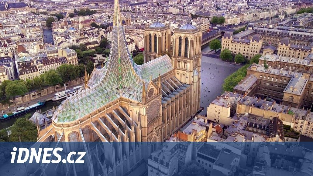 Skleník v katedrále Notre-Dame. Odvážný architektonický návrh budí vášně