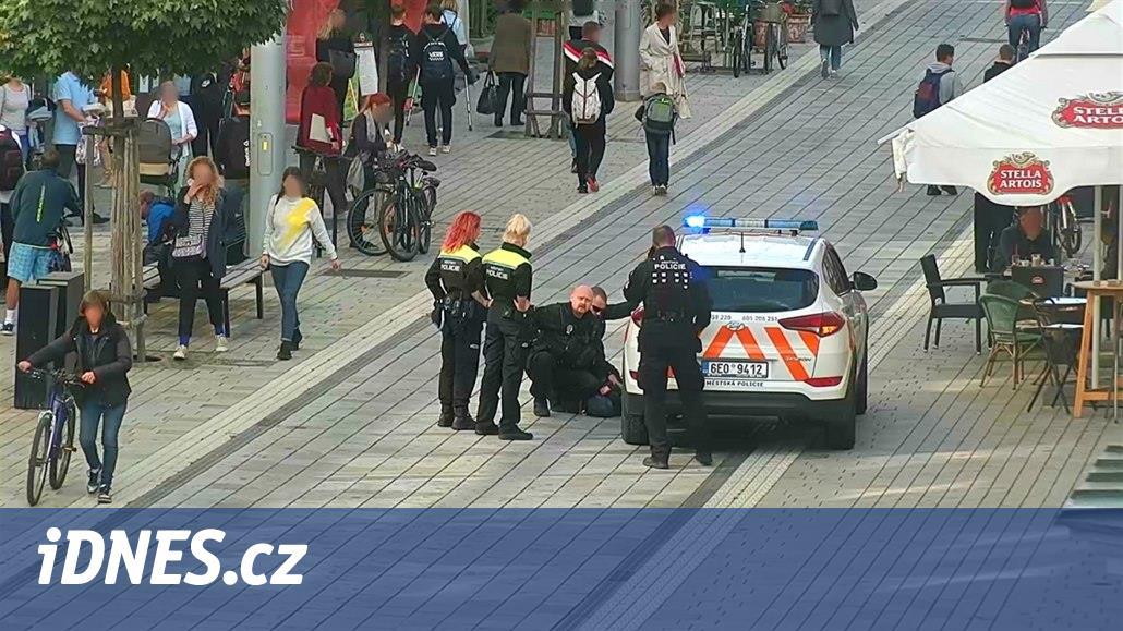 Opilá bezdomovkyně napadala kolemjdoucí, bez varování je bila pěstmi