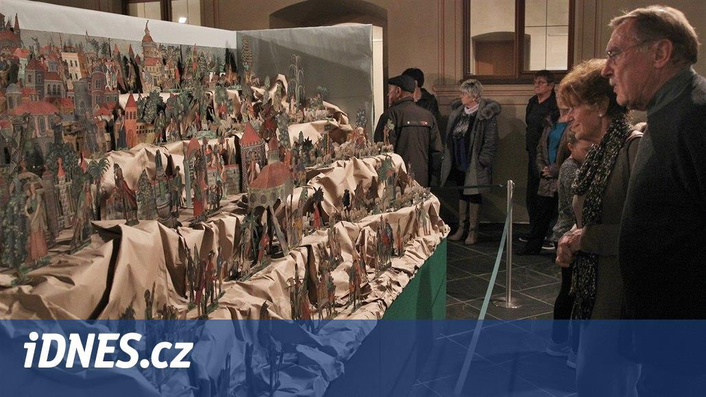 V opavském Domě umění jsou k vidění vzácné betlémy