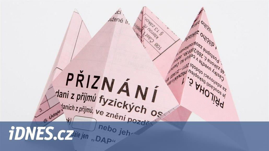 Daňové přiznání za rok 2016  stáhněte si interaktivní formuláře - iDNES.cz 02efdb2ba5c