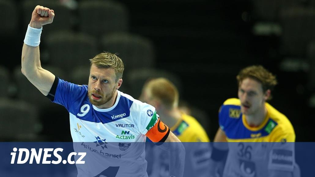 Házenkáři Islandu poprvé porazili Švédsko, Chorvati deklasovali Srbsko