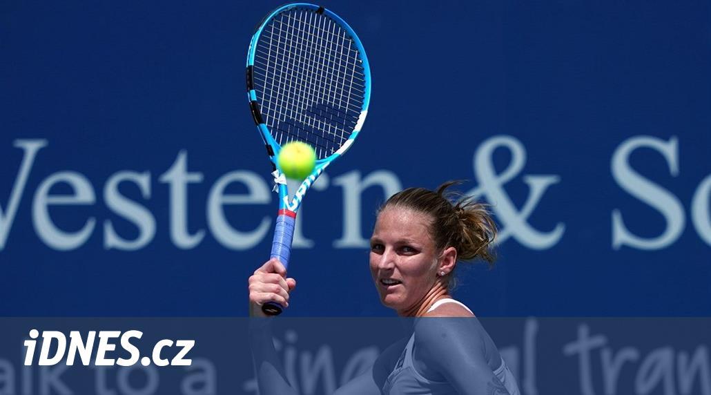 Šestadvacetiletá Plíšková před turnajem v Cincinnati vyměnila kouče. Spolupráci s