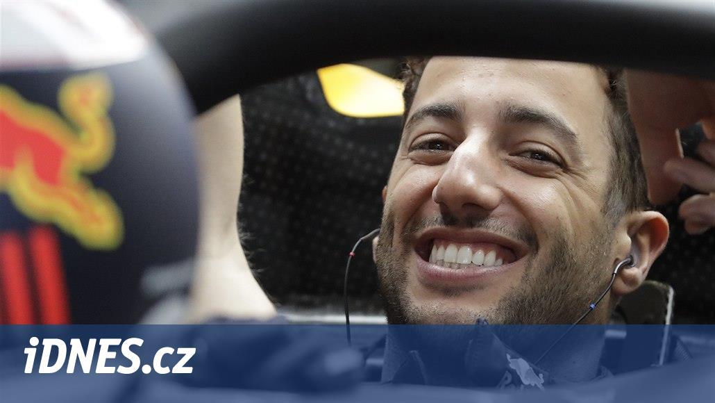 Totální frustrace: Ricciardo po Velké ceně USA prorazil pěstí zeď
