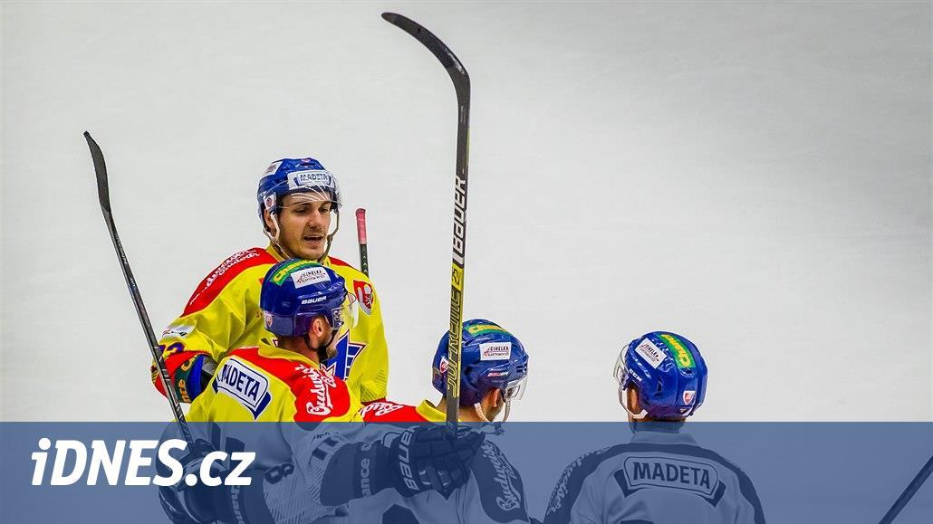První liga: Budějovice hostí Přerov, Vsetín hraje s Chomutovem