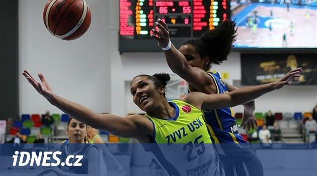 Další drtivá výhra. Basketbalistky USK daly lekci hostům z Belgie