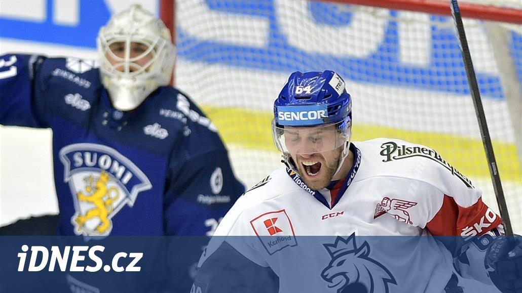 ONLINE: Hokejistům se daří, v první třetině vedou nad Finskem 3:1