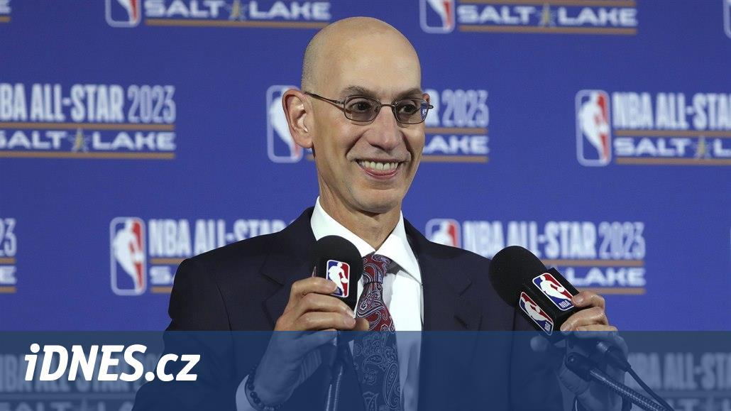 Silver: Lednový start NBA ohrozí účast basketbalistů na olympiádě