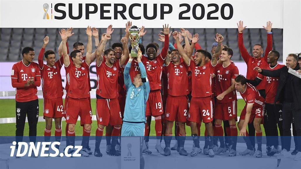 Fotbalisté Bayernu získali pátou trofej v tomto roce, německý Superpohár
