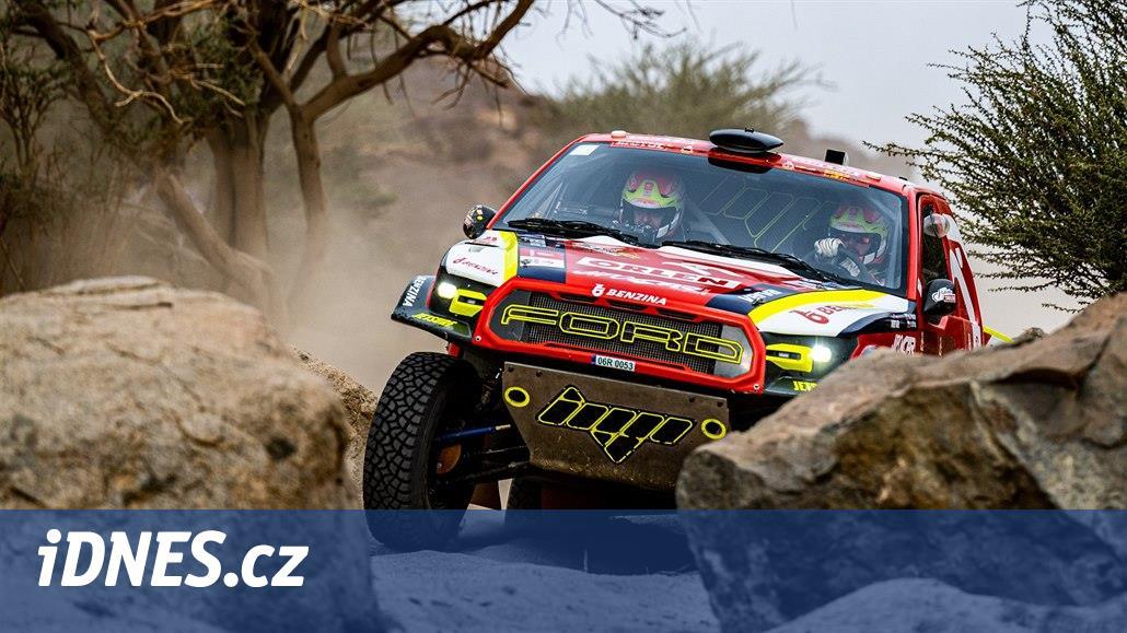 Automobilový jezdec Prokop hodnotí povedené deváté místo na Dakaru