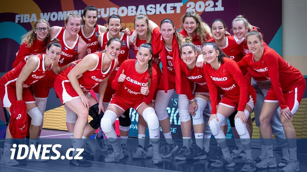 České basketbalistky se v pondělí dozví, s kým si zahrají na ME