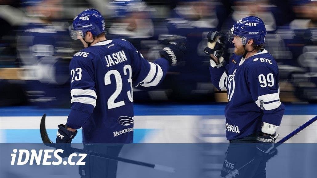 Jaškin zakončil základní část 38. gólem a v KHL je králem střelců
