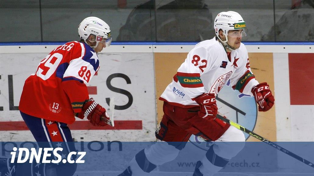 První hokejová liga: v Edenu se hraje derby Slavií, Litoměřice hostí Sokolov