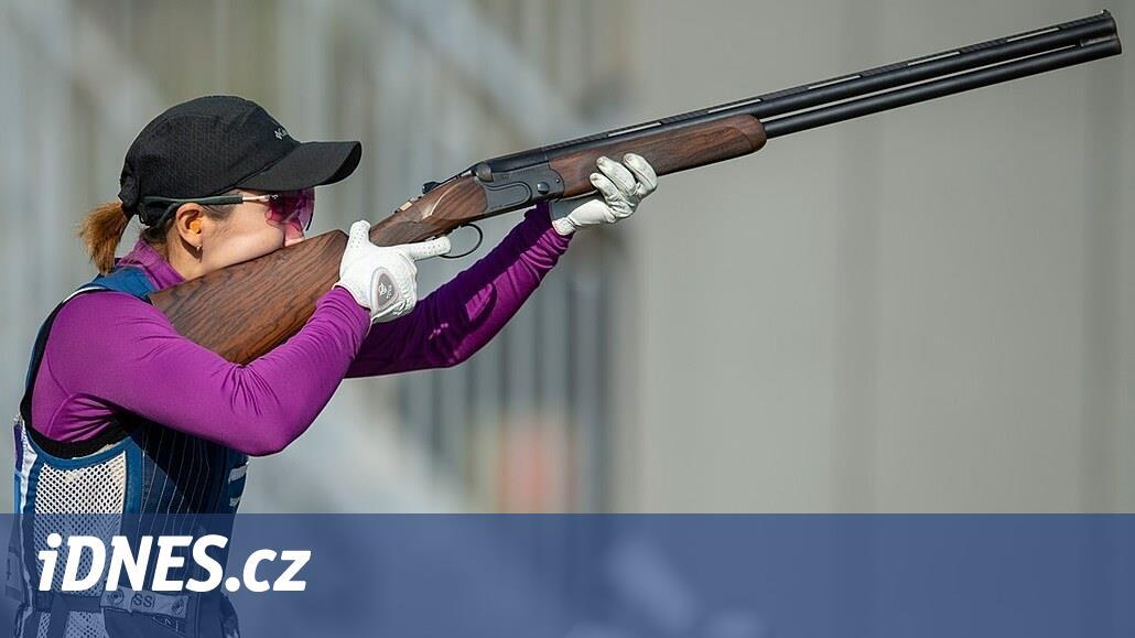 Skeetařce Šindelářové na Světovém poháru v Itálii těsně unikl bronz