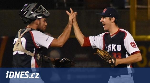 Šok na úvod. Čeští baseballisté porazili na MS do 23 let obhájce titulu