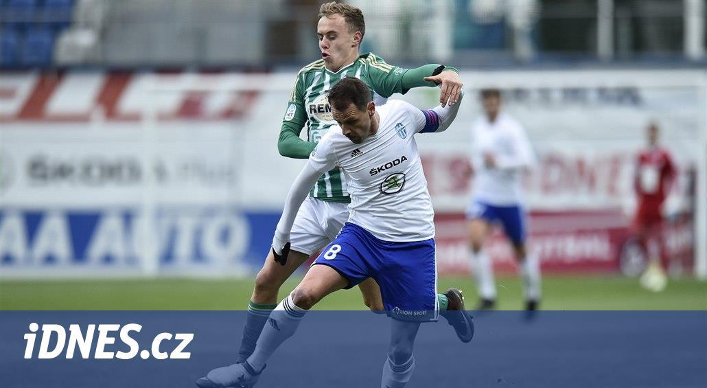 Boleslav - Bohemians 1:2, tři góly po půli, hosty nezlomila ani penalta