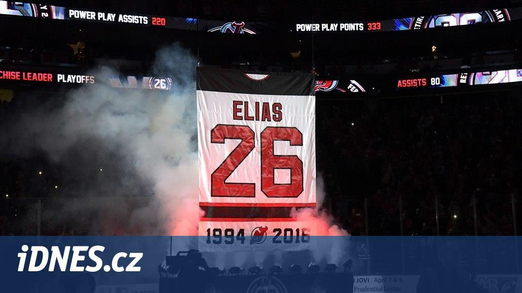 Pocta pro Eliáše. New Jersey slavnostně vyřadilo jeho číslo 26
