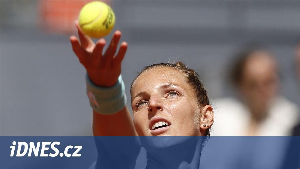 Nasazená šestka a loňská semifinalistka Karolína Plíšková si počká na