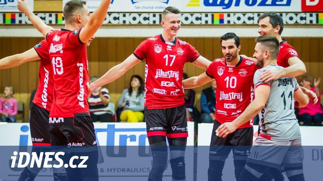 V semifinále Českého poháru jsou i volejbalisté Budějovic a Liberce