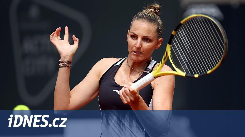 Kristýna Plíšková si v Kluži zahraje první čtvrtfinále v sezoně